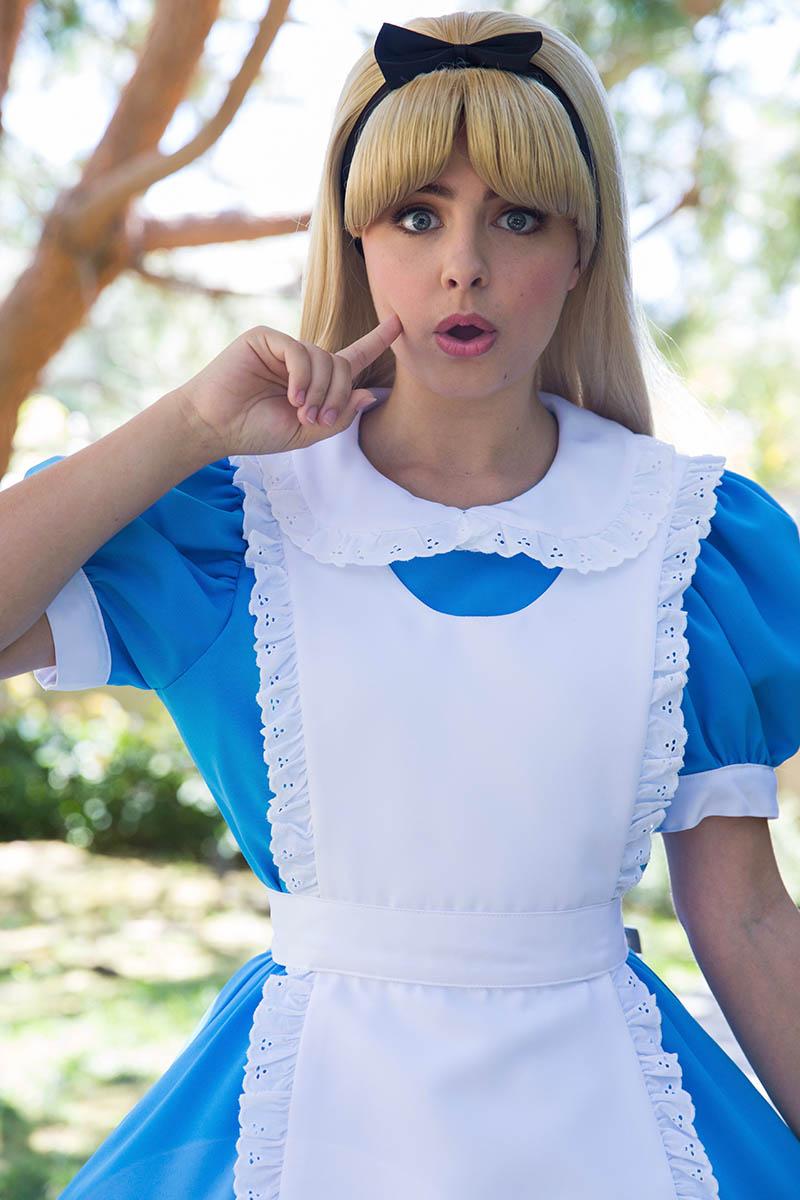 Alice party character for kids in cincinnati