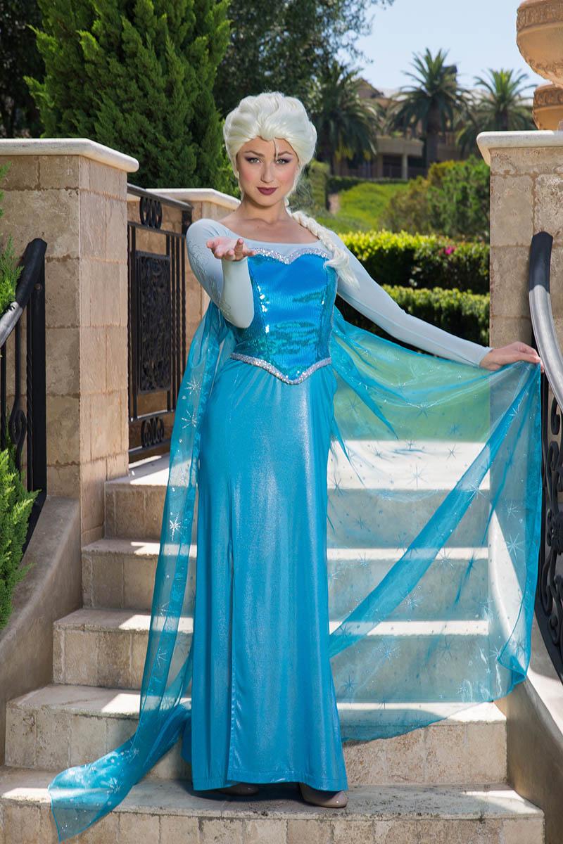Frozen elsa party character for kids in cincinnati