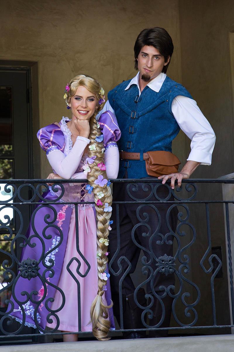Princess rapunzel party character for kids in cincinnati